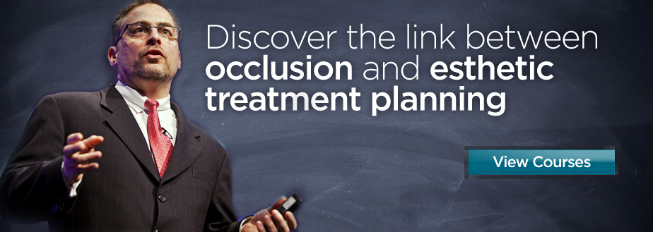 Discover the link between occlusion and esthetic treatment planning